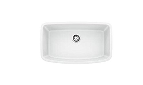 Blanco 441773 Valea Super Single Bowl Sink, White by Blanco