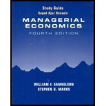 Managerial Economics, Samuelson, William F., 0470000414