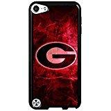 Georgia Bulldogs Team Logo Ipod Touch 5th Generation Case NCAA Theme Protective Back Cover