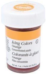 Bulk Buy: Wilton Icing Colors 1 Ounce Orange W610-205 (6-Pack)