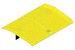 Eagle 1797 Portable Poly Dock Plate, 45