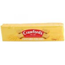 Crawfords Custard Creams 5.29 Oz (Pack of -