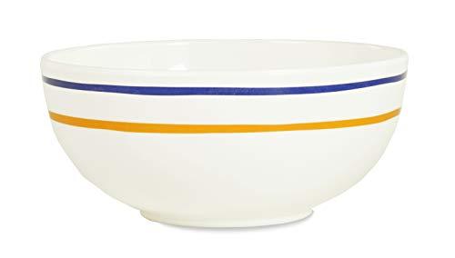 Kate Spade New York Individual Reusable Melamine Bowl, Dishwasher Safe, Citrus Twist