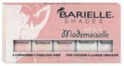 Barielle Mademoiselle Nail Polish, Five Various Shades, 2.25 Ounce