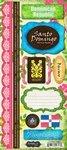 Scrapbook Customs - World Collection - Dominican Republic - Cardstock Stickers - Paradise (Dominican Republic Scrapbooking)