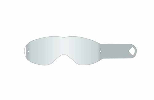 Dragon MDX Vendetta Goggle Tear Offs - 50-Pack/Clear (Dragon Vendetta Goggles)