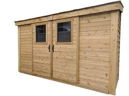 Slider Lean-To Storage Shed | 12x4