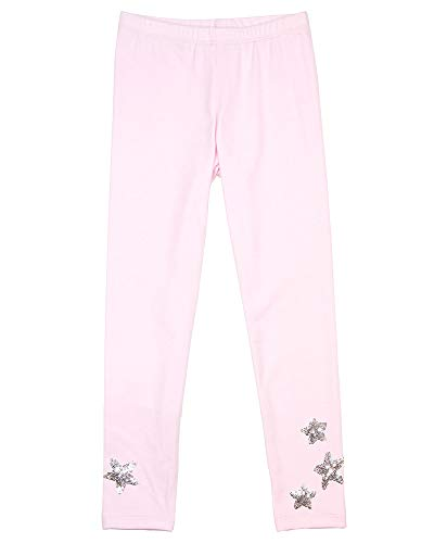 Kate Mack Girls' Unicorn Dreams Leggings with Stars, Sizes 4-10 - 10 Pink