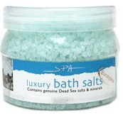 Dead Sea Bath Salts by Jericho Cosmetics 25 Oz Jar Lavendar Scented! Bath Sea Salt Jar