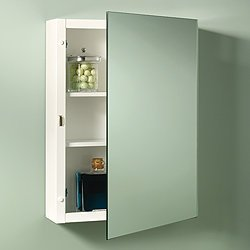 Jensen 260P26CH Topsider Single-Door Surface Mounted Medicine Cabinet by Jensen