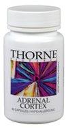Thorne Research, der Nebennierenrinde, 60 Veggie Caps
