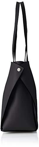 Tom Bolsos Tailor Mujer Totes schwarz Denim Negro Nelia rqrwS67B