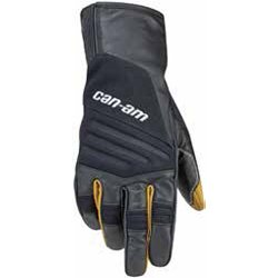 CAN-AM MENS ADVENTURE GLOVES, BLACK, LARGE, 2864070990
