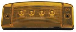 Peterson Manufacturing 188R Clearance & Side Marker Light ()
