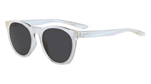 Sunglasses NIKE ESSENTIAL HORIZON EV 1118 910 CLEAR/WHITE/DARK GREY