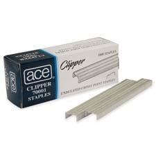 High-Capacity Staples, 3/8 Inch Leg Length, 2500/Box