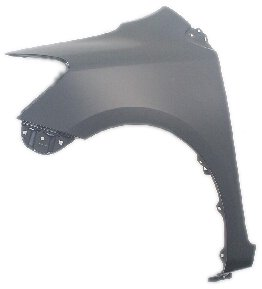 - OE Replacement Toyota Yaris Front Driver Side Fender Assembly (Partslink Number TO1240212)