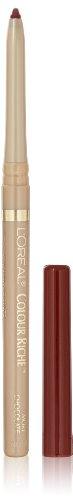 L'Oréal Paris Colour Riche Lip Liner, More Chocolate, 0.007 oz.