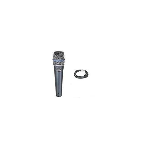 Shure Beta 57a Microphone + Whirlwind 20' XLR Cable