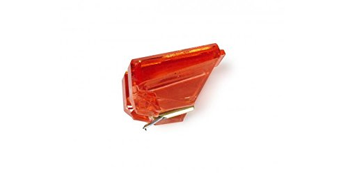 Diamante AGEPS24 - Aguja giradiscos, color naranja Fonestar