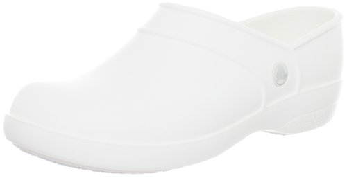 Crocs Womens Neria Work Clog White aPo8On