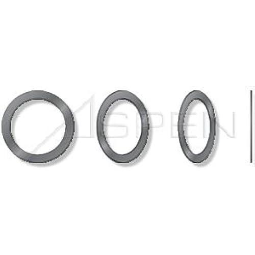 (500 pcs) ID=12mm, OD=18mm, THK=1mm, DIN 988, Metric, Precision Shim Rings, Steel, Plain