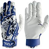 Nike Youth Trout Edge Batting Gloves 2018 (Royal, L)