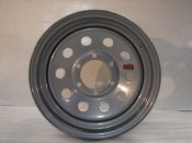 15'' TRAILER STOCK UTILITY 6 LUG SILVER MOD WHEEL WHEELS RIMS 6X5.5