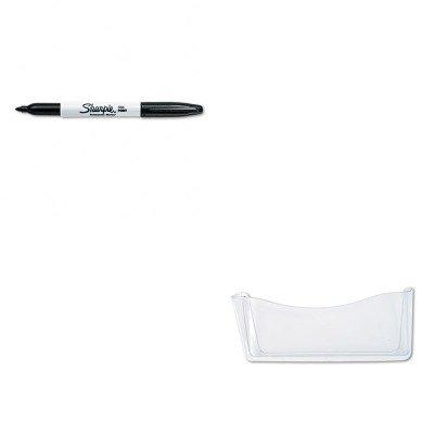 KITRUB65980ROSSAN30001 - Value Kit - Rubbermaid Unbreakable Single Pocket Wall File (RUB65980ROS) and Sharpie Permanent Marker (SAN30001)