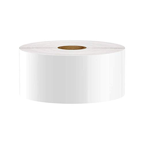 Premium Vinyl Label Tape for DuraLabel, LabelTac, VnM, SafetyPro and Others, White, 2