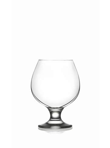 Epure Collection 4 Piece Glass Set – For Drinking Brandy, Bourbon, and Wine (Brandy (13.25 oz))