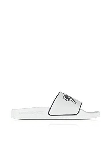 MCQ Alexander McQueen Women's 496837R11569000 White Rubber Sandals