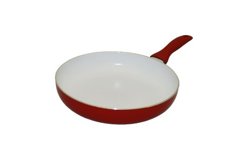 amazoncom concord cookware cf30 ceramic coated non stick fry pan 12inch red sarten de ceramica kitchen u0026 dining - Non Stick Frying Pan