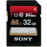 Sony 32GB SDHC UHS-1 Class 10 Memory Card, 2 Pack (SF32UXD/TQN) by Sony