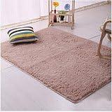 TMJJ Soft Shaggy Living Room Carpets Bedroom Area Rugs Home Decorative Floor Mats,63 x 47 inches,Light Camel