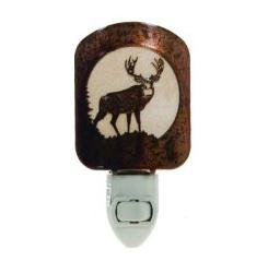 Thirstystone BNLMDEHP LAZ NL Mule Deer Nightlight HP, Honey Pinion