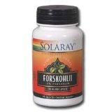 Solaray - Forskohlii, 3,85 mg, 60 gélules