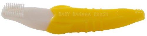 Bébé Banana pliable formation Brosse à dents, Tout-petit