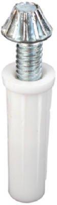 Prime Line Products 161509 Bi-Fold Door Adjustable Bottom Pivot, Steel, 2-Pk. - Quantity 6