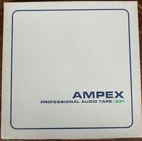 (Ampex Professional 7 Inch Reel Tape 1800 Ft. Catalog # 641)