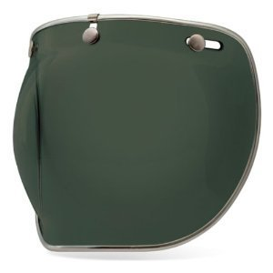 Bell Unisex Adult 3-Snap Wayfarer Green Bubble Shield Deluxe 7018139