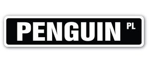 PENGUIN Street Sticker artic antartic north pole igloo animals lover collector