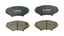 Bosch BC1009 QuietCast Premium Ceramic Disc Brake Pad Set For 2004-2011 Mazda RX-8; Front ()