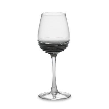 Mikasa Swirl Smoke White Wine Glass, 10.5-Ounce ()
