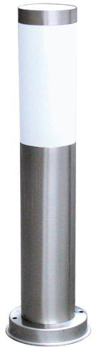 Ranex RX 1010-45 Gartenpfosten aus Edelstahl / Außenstehleuchte