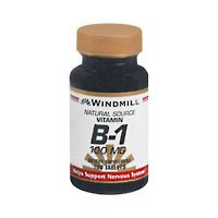 Windmill Vitamin B-1 100 mg 100 Tablets - 1