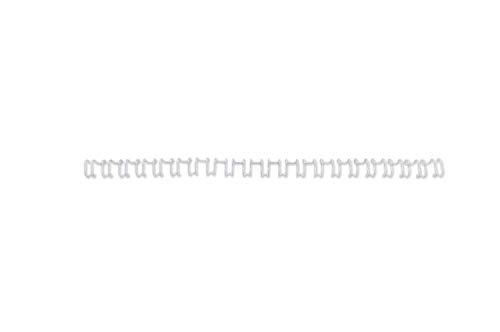 Gbc Binding Wire Elements - GBC Binding Wire Elements 21 Loop 25 Sheets 6Mm White Ref Ib165085 [Pack of 100]