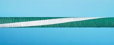 Rubber-Covered Chemfluor Hose; 10 ft L; 11/2