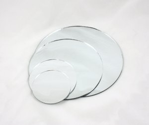 "Mirror - Round, Sanded Edge, Diameter: 16""  MIRROU16"