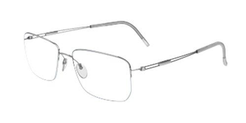 - Silhouette - TNG NYLOR 5279, Geometric, titanium, men, SILVER(6050 D), 56/18/0